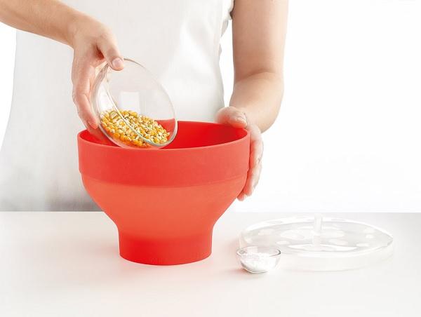Składane naczynie do prażenia popcornu Native marki Lekue