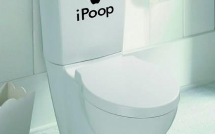 zabawna naklejka na wc IPoop