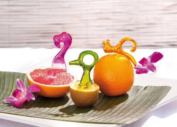 Kolorowe zwierzaki do owoców fresh Vitamins marki Koziol