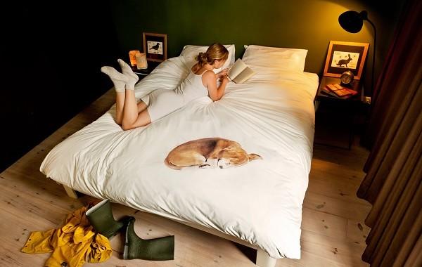 pościel z psem marki Snurk