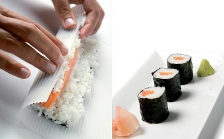 silikonowa mata do sushi Lekue