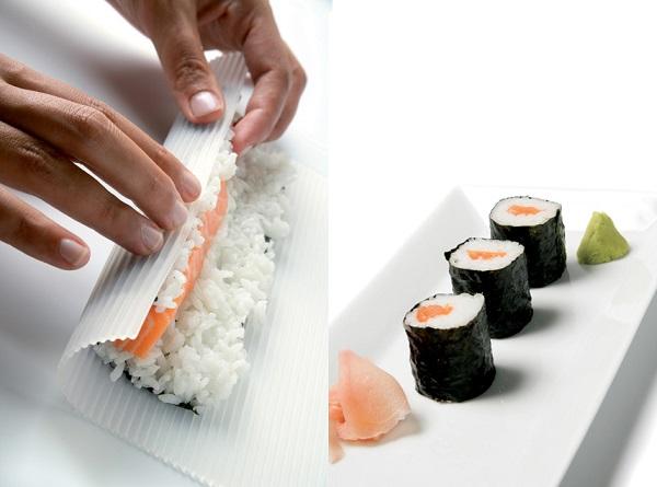 Silikonowa mata do sushi Luki marki Lekue