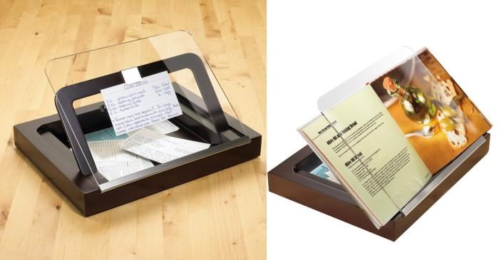 Podstawka pod książkę kucharską z szybką Prop firmy Umbra