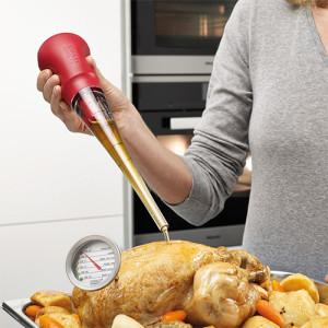 Zestaw do pieczenia mięsa z pipetą i termometrem od Joseph Joseph