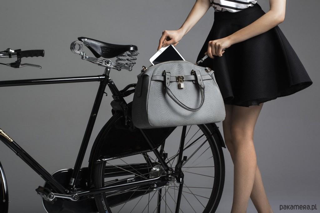 torba rowerowa szara pakamera