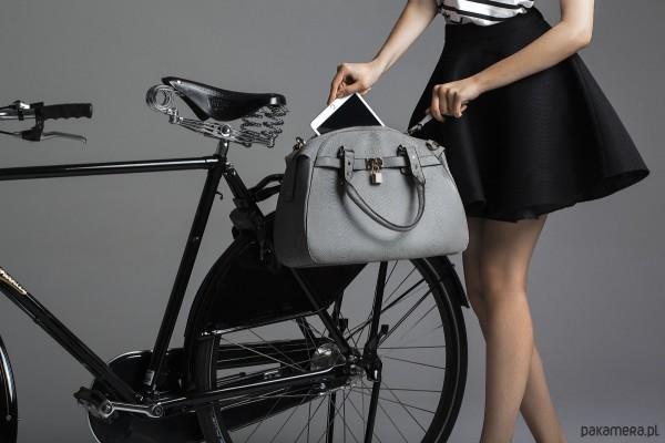 Elegancka torba rowerowa Mme Velo