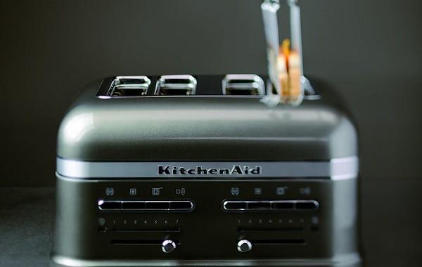 toster kitchenaid retro czarny