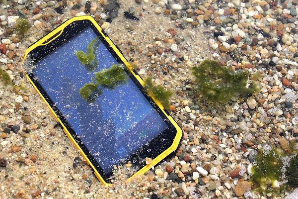wodoodporny telefon ruggear