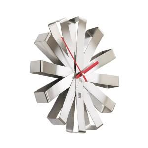 Zegar ścienny kwiatek Ribbon marki Umbra