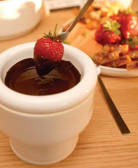 Zestaw do czekoladowego fondue od Sagaform