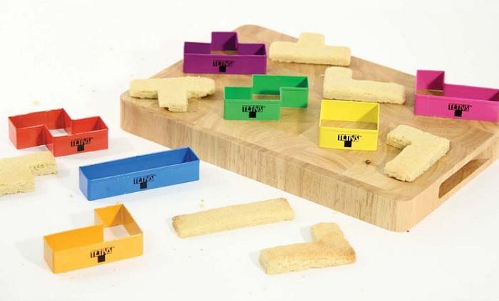 Foremki do ciastek Tetris od Paladone