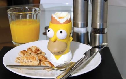 kieliszek do jajek i wykrawacz do tostów Homer The Simpsons