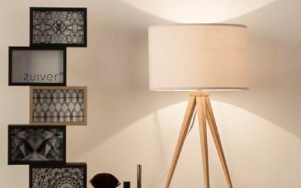 Lampa trójnóg Zuiver biała