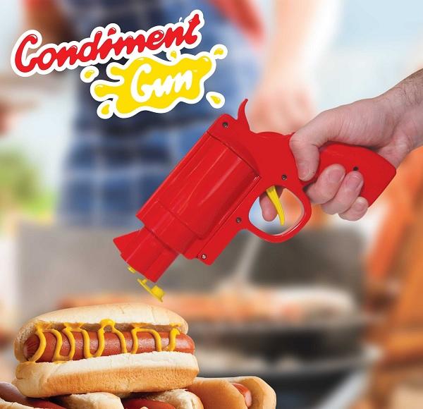 Pistolet do sosów marki Mustard