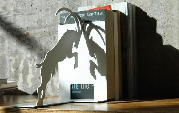 podpórka do książek koziołek Pulpo