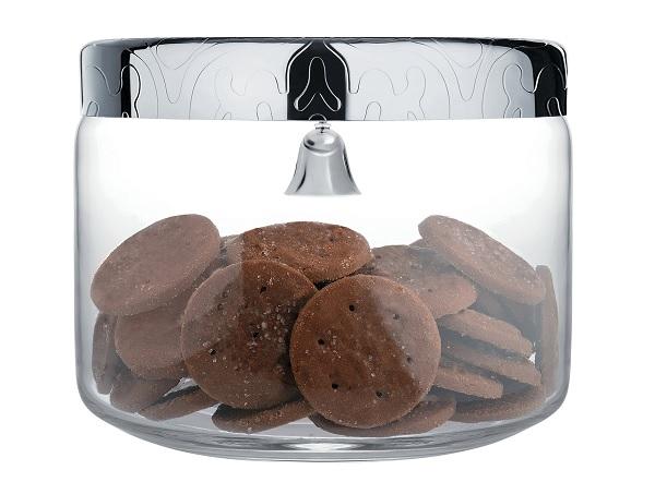 Pojemnik na ciastka z dzwonkiem marki Alessi