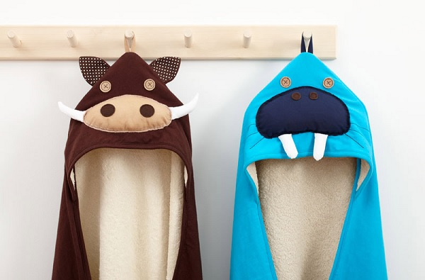 Ręcznik z kapturem mors od 3Sprouts