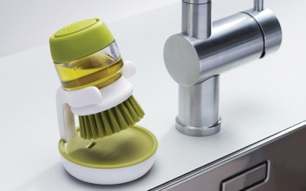szczotka do mycia naczyń z dozownikiem plynu joseph