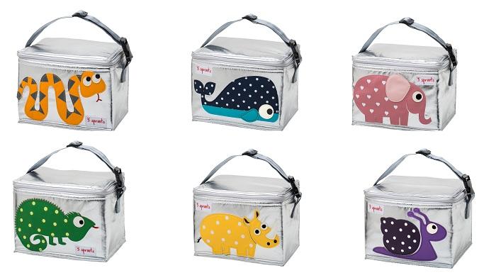 torby sniadaniowe 3sprouts zwierzaki