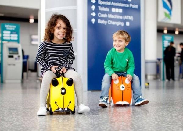 Dziecięca walizka na której można jeździć marki Trunki