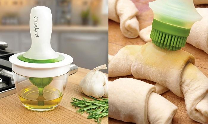 Zestaw z pędzelkiem do smarowania potraw marki Prepara