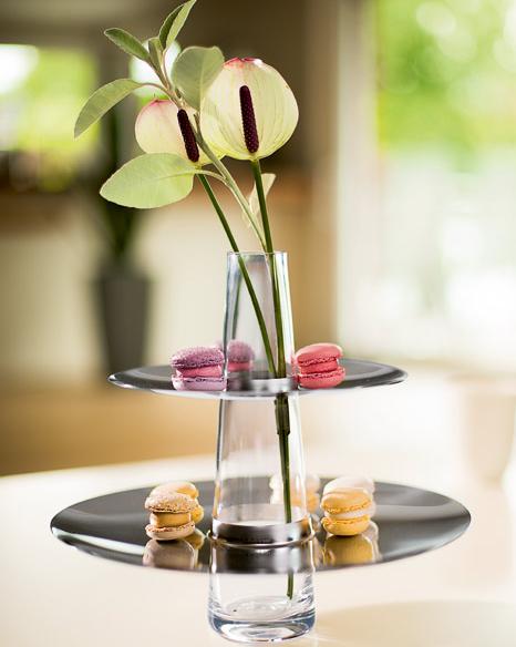 Elegancka etażerka i wazon 2w1Fontaine marki Philippi