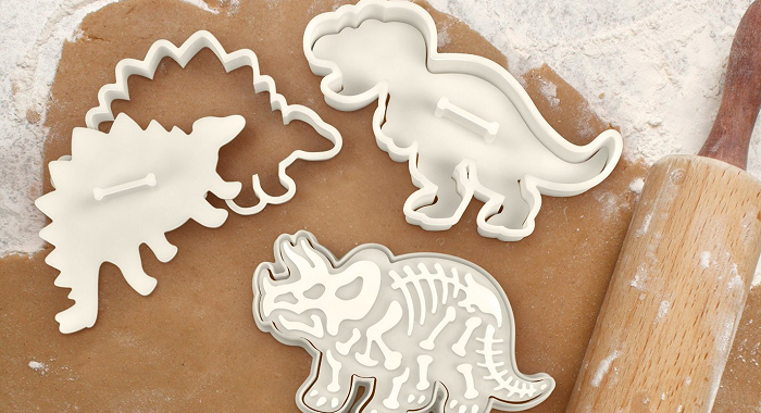 foremka i stempel szkielet dinozaura Fred & Friends
