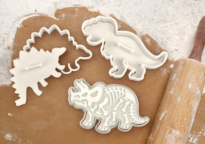 Foremka i stempel szkielet dinozaura od Fred&Friends