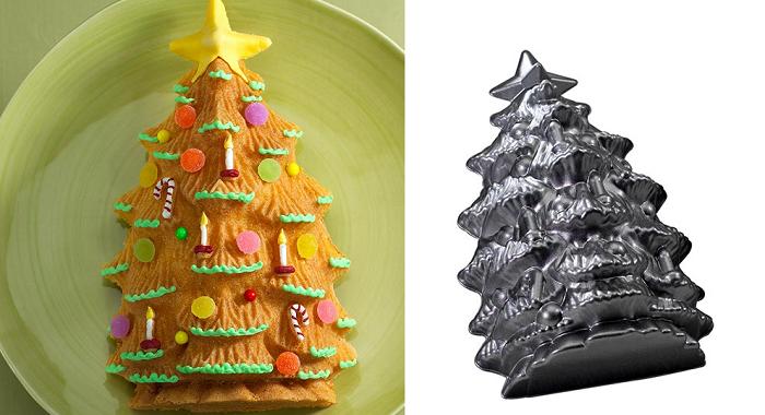 forma do ciasta choinka 3D Nordic Ware