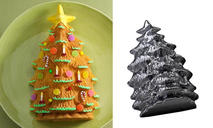 Świąteczna forma do ciasta choinka od Nordic Ware