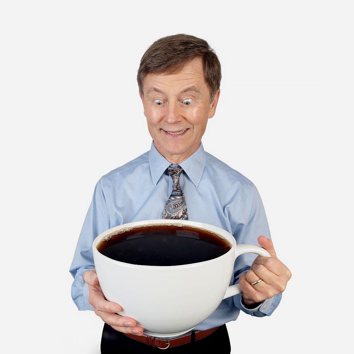 Gigantyczna filiżanka do kawy