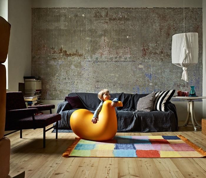 Minimalistyczne krzesełko bujane dla dziecka Dodo firmy Magis