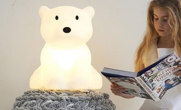 lampka nocna miś polarny mrmaria