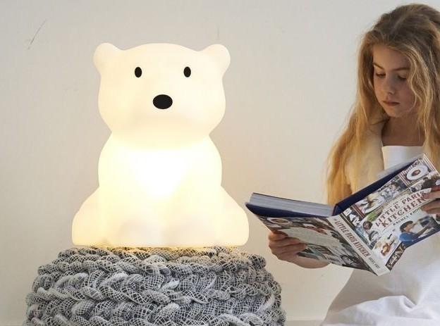 Dziecięca Lampka Nocna Miś Polarny Od Mrmaria Gadgets