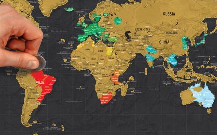 mapa zdrapka delux