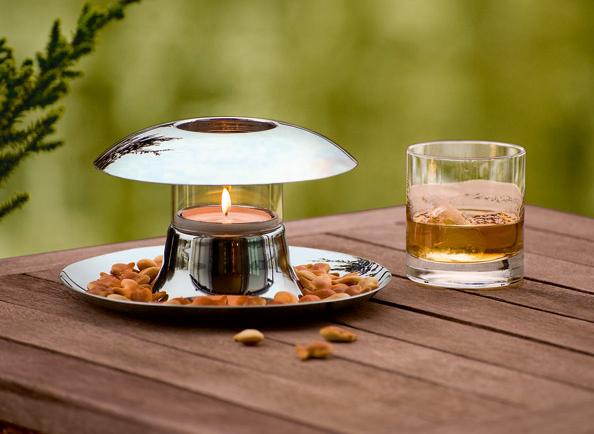 elegancka miseczka na przekąski ze świecznikiem Philippi