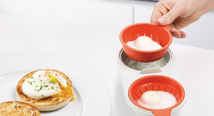 naczynie do gotowania jajek w mikrofali m-cuisine Joseph Joseph