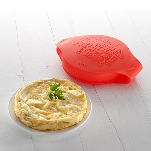 Silikonowe naczynie do hiszpańskiego omletu z serii Native marki Lekue
