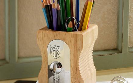 kubek na ołówki temperówka