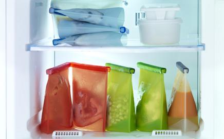 pojemnik na jedzenie torebka foliowa lekue