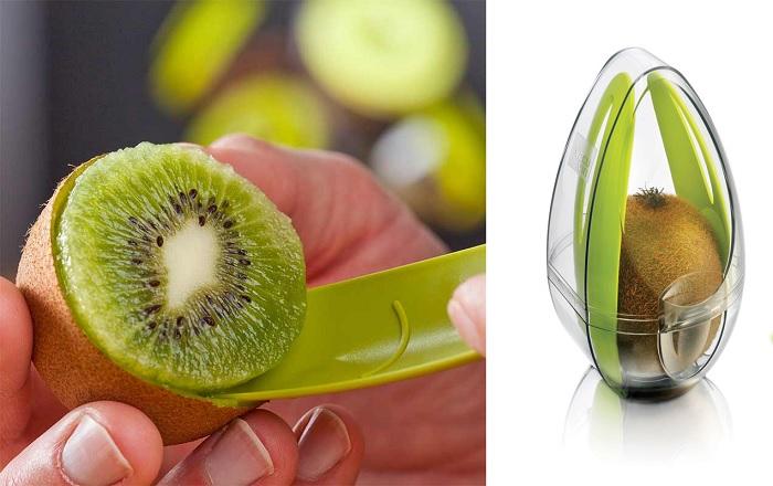 Pojemnik na kiwi z nożykiem Kiwi Guard marki Tomorrow's Kitchen