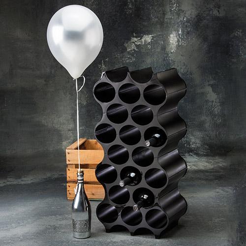Modułowy stojak na butelki Set-Up marki Koziol