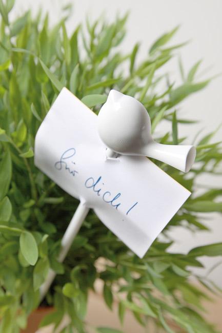 Znacznik do roślin w doniczkach ptak marki Koziol