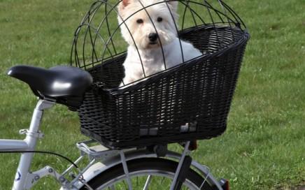 rowerowy koszyk z kratką Trixie