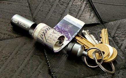brelok schowek na banknoty