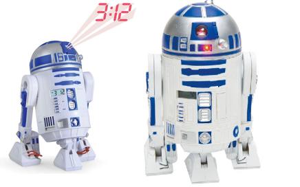 Budzik z projektorem Star Wars R2D2