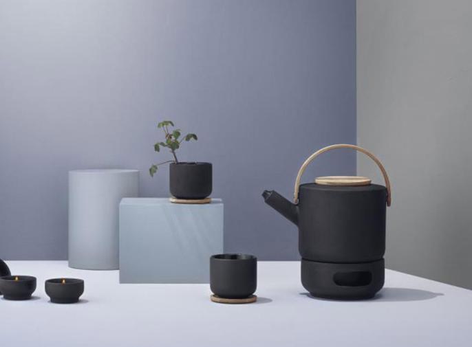 Żeliwny zaparzacz do herbaty Theo marki Stelton