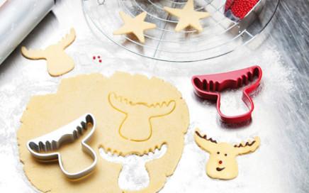 świąteczna foremka do ciastek rudolf Koziol