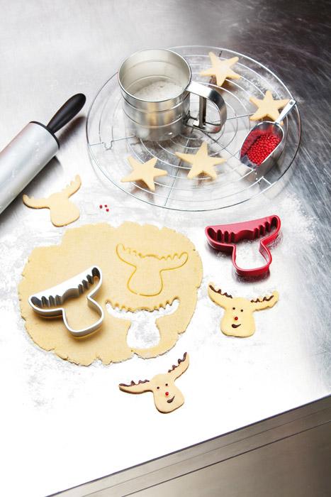 Świąteczna foremka do ciastek Rudolf marki Koziol