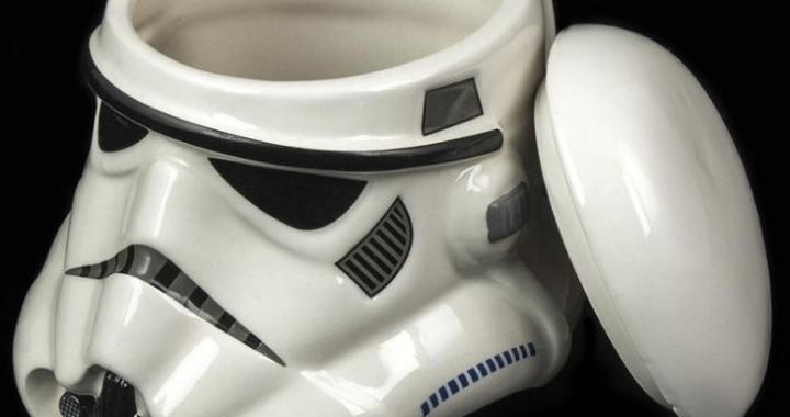 kubek stormtrooper z pokrywka